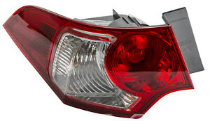 Driver Side Outer Replacement Tail Light for 09-10 Acura TSX (TYC 11-6452-01)