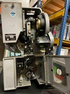 35mm Simplex Projector& Soundhead Model 1060 with 2-lens Turrett