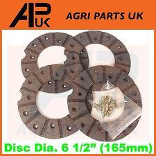 Nuffield 10/42 10/60 3/45 4/65 Tractor Brake Disc Lining Repair Kit Set & rivets