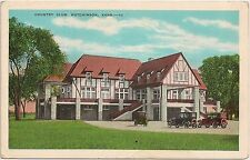 Country Club in Hutchinson KS Postcard