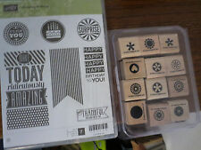 STAMPIN UP AMAZING BIRTHDAY AND LITTLE PIECES STAMPS
