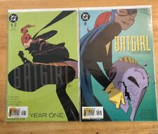 Batgirl Year One Lot of 2 Comic Books Issues #1, 2 VF-NM