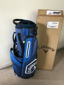 Callaway Chev C Golf Stand Bag 2020 Navy Blue