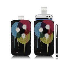 coque étui pochette pour Samsung Galaxy S3 i9300 avec motif LM08 + stylet luxe