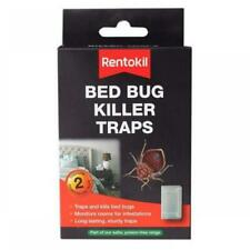 Rentokil Home DIY Bed Bug Killer Traps with Glue Boards for Mattress - Twin Pack