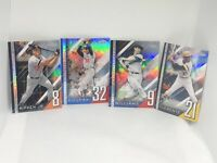 2020 TOPPS CHROME UPDATE SERIES A NUMBERS GAME LOT OF 4 Koufax/Clemente/Williams