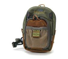 Fishpond San Juan Vertical Chest Pack Fly Fishing Sand Saddle Brown