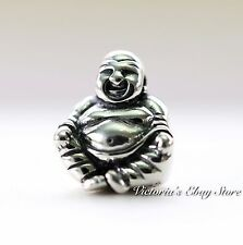 Authentic Pandora Sterling Silver Smiling Buddha Bead #790478