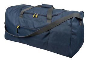 Mens Extra Large Navy Sports & Gym Travel Bag - LEISURE SPORT TRAVEL WORK DUFFLE