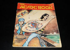 ACDC - Dirty Deeds Done Dirt Cheap Song Book - Albert Productions 1976 Australia