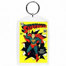 DC Comic Book Superman #9 Cover Keychain
