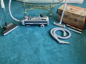 Vintage Electrolux Silverado Vacuum Cleaner w/PN5 Power Nozzle W/ Original Box