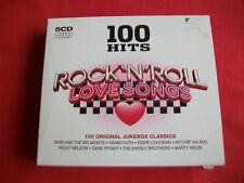 ROCK N ROLL LOVE SONGS - 100 HITS - 5CD BOX SET - 2010 - DMG 100 047