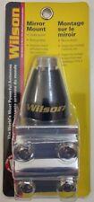 Wilson 305-700 Aluminum CB Radio Antenna Mount w/ Black Beehive Gumdrop Stud
