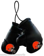 Cleveland Browns NFL Boxing Gloves Car Auto Logo Decoration Mirror Hang Ornament