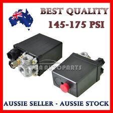Solid Air Compressor Pump Pressure 145-175 PSI Switch Control Valve 12 Bar 240V