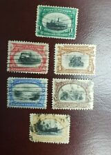 US Stamp #294-299 Pan-American Issue Full Set Used CV:$119