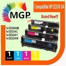 4x HP CE320A-3A Toner for Color Laserjet CP1520 CP1521N CP1522N CP1523N CP1526NW