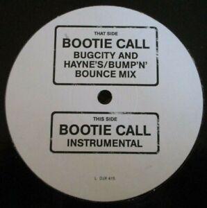 "ALL SAINTS ~ Bootie Call ~ 12"" Single PROMO"