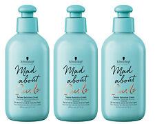3x Schwarzkopf MAD ABOUT CURLS Twister Definition Cream für lockiges Haar 200 ml