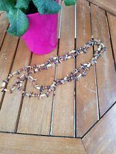 Retro 1980's Stone necklace handmade