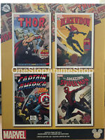 Disney Marvel D23 Expo Exclusive Acrylic Print Set Limited Edition LE 100 new