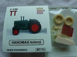 miniatur MT17b Spur TT Komplettbausatz Bausatz Traktor Hanomag Resin