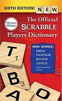 The Official SCRABBLE Players Dictionary New Sixth Edition