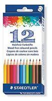 STAEDTLER Bois Gratuit Crayons de Coloriage - Forme Hexagonale - Paquet De 12