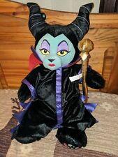 Disney Build A Bear Maleficent Brand New soft toy villian plush sleeping beauty
