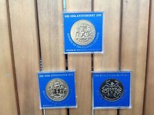 More details for 1620-1970 / 350 years sailing pilgrim fathers & mayflower to usa 3 medals/coins