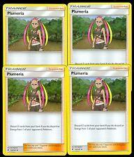 Pokemon PLUMERIA 120/147 - Burning Shadows - MINT 4X