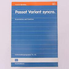 SSP 61 - VW Passat Variant syncro - 2/1984