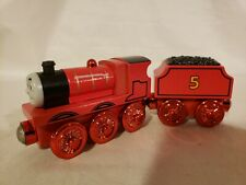 Thomas wooden Rare Red Metallic James New loose Condition