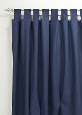 Unbranded Tab Top 100% Cotton Curtains & Pelmets
