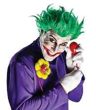 Arkham Asylum Joker Kit Wig Gloves Batman Clown Halloween Costume Accessory