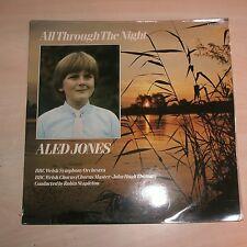 ALED JONES / BBC WELSH SYMPHONY ORCH - All Through The Night (Vinyl Album)