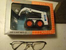 Die Cast Metal Bobcat Loader 753 Skid Steer Melroe Model 1:25 America Best toy