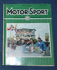Motor Sport September 1965 Ford GT40, GP drivers, NSU1000L