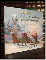The Lion the Witch and Wardrobe Retelling Picture Book New Gift Narnia Hardcover