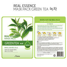 Jluna Korean Cosmetics Fresh Natural Plant Essences Face Mask Pack 1PC Green Tea
