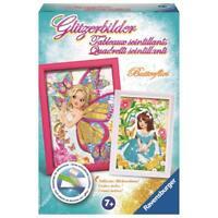 Kinder Bastelset Butterflies Glitzerbilder   Ravensburger 18334   Kreativset