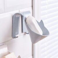 Plastic Soap Dish Storage Tray Holder Bath Shower Plate Bathroom Dispenser AA