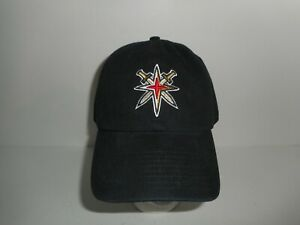 NHL '47 Brand Vegas Golden Knights Alternate Logo Strapback Hat Cap