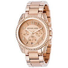 New Authentic Ladies Michael Kors MK5263 Blair Rose Dial Watch Warranty RRP $449