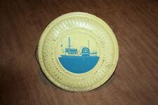 """Vintage 8.25"""" Diameter Flue Cover Steamship Natchez See Pix!"""