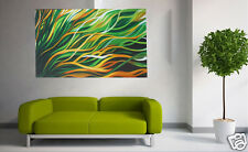 Painting made to order Mangrove Breeze green yellow landscape 120cm  australia