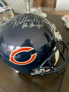 William Perry Chicago Bears Signed Auto Autographed Full Size Replica Helmet
