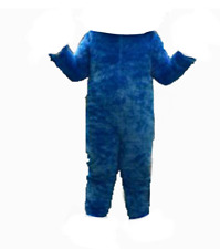 Cookie Monster Adult Mascot Costume BODY Suit Outfit Party Birthday Halloween