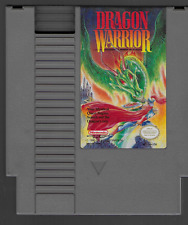Dragon Warrior Your Mystical Quest Begins Search Out the Dragon's Lair NES 1989